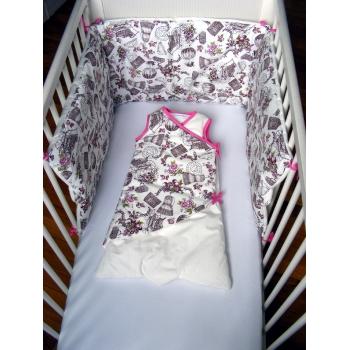 Tour de lit Costume rose