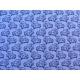 coton car bleu