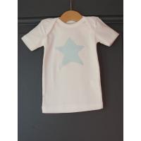 T-shirt personnalisé étoile Ronds turquoises