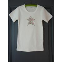 T-shirt personnalisé étoile Coquelicot