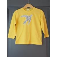 T-shirt personnalisé marron étoile Cars beiges