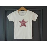 T-shirt personnalisé étoile Chouettes roses