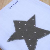 Lange étoile star grise
