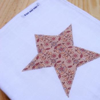 Lange étoile marguerite rose