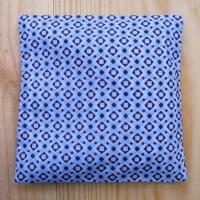 Bouillotte sèche Géométrie bleu