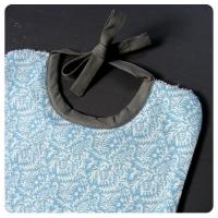 Bavoir Animaux bleux
