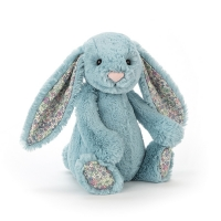 Lapin Jellycat Blossom Aqua Bunny 18 cm