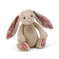 Lapin Jellycat Blossom Beige Bunny 18 cm