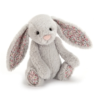 Lapin Jellycat Blossom Silver Bunny 18 cm
