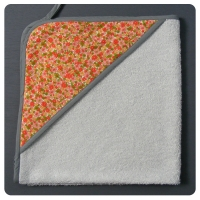 Sortie de bain Vintage orange